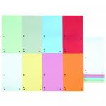 Separatoare carton pentru biblioraft, 105x235 mm, 100 bucati | set, DONAU Duo