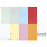 Separatoare carton pentru biblioraft, 105x235 mm, asortate, 100 bucati | set, DONAU Duo
