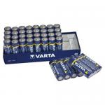 Baterie alcalina LR06 | AA, 40 buc | cut, VARTA Industrial 4006
