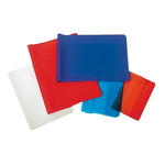 Coperti plastic, A5, asortate, 10 buc/set