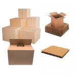 Cutii ambalare | transport, carton kraft, 600x400x400 mm, 10 buc | set