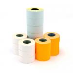 Etichete pentru marcator, 26x16 mm, alb, 1000 buc/rola, 6 role | set, APLI