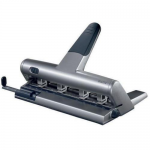 Perforator metalic, 4 perforatii, distante reglabile, 30 coli, LEITZ 5114