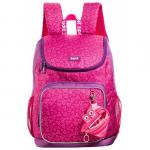 Rucsac fete scoala + portofel, roz, ZIP..IT Premium Wildlings