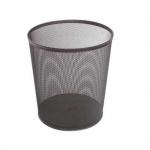 Cos plasa metalica | mesh, 11 litri, negru, 3A