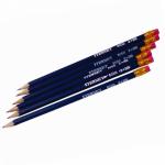 Creion HB cu radiera, corp lemn, ARTIGLIO