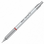 Creion mecanic profesional, 0.5 mm, ROTRING Rapid Pro Silver