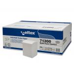 Hartie igienica pliata Z, 2 straturi, 250 buc/set, 36 seturi | bax, CELTEX
