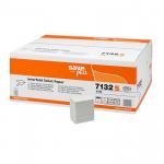 Hartie igienica pliata Z, 2 straturi, 250 buc/set, 36 seturi | bax, CELTEX Save Plus