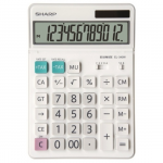 Calculator de birou, 12 digits, ecran rabatabil, SHARP EL-340W