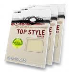 Carton carti vizita, A4, 120 gr/mp, 50 coli, TOP STYLE Metallic Pearl