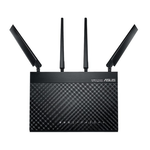 Router wireless 1900 Mbps, dual band, 4G LTE Wi-Fi ASUS 4G-AC68U