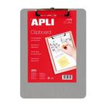 Clipboard simplu A4, aluminiu, APLI