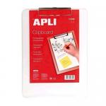 Clipboard simplu A4, plastic, APLI