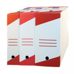 Cutii arhivare, 330x255 mm, latime 160 mm, 10 buc | set, RTC