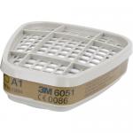 Filtre A1 pentru vapori organici, 2 buc | set, 3M 6051