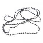 Lantisor metalic pentru ecuson | legitimatie - 70 cm