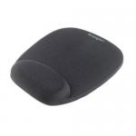 Mousepad ergonomic cu spuma memorie, negru, KENSINGTON Foam Mouse Pad