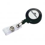 Dispozitiv cu snur retractabil pentru ecuson | legitimatie, DURABLE - set 10 bucati