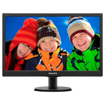 "Monitor LCD TN 21.5"", Wide Full HD 1920x1080, 250 cd/mp, VGA, DVI, PHILIPS 223V5LSB/00"