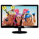 "Monitor LCD TN 19.5"", Wide Full HD 1920x1080, 250 cd/mp, VGA, DVI, PHILIPS 200V4QSBR/00"