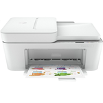 Multifunctional inkjet color, A4, 20 ppm, Fax, WiFi, ADF, HP DeskJet 4120 All-in-One