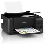 Multifunctional inkjet color, A4, 33 ppm, WiFi, EPSON EcoTank L3150 CISS