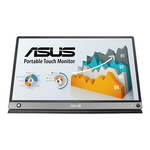 "Monitor portabil LCD Touchscreen 15.6"", IPS Wide Full HD 1920x1080, 250 cd/mp, USB-C, Micro-HDMI, baterie, ASUS ZenScreen MB16AMT"
