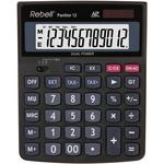 Calculator de birou, 12 digits, calcul taxa, REBELL Panther 12