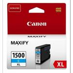 Cartus Cyan PGI-1500XLC, 12 ml, original CANON MAXIFY MB2050