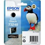 Cartus Matte Black T3248 C13T32484010, 14 ml, original EPSON SC-P400