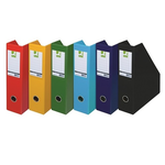 Suport vertical cataloage, carton laminat, Q-CONNECT