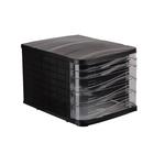 Suport pentru documente, 5 sertare, negru, ARK