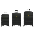 Set 3 trolere hard case ABS, 20"