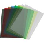 Coperti A4 indosariere, cristal 150 microni, galben | rosu | verde, 100 buc | set