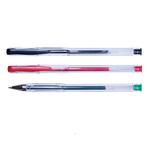 Pix cu gel, 0.5 mm, negru | rosu | verde, OFFICE PRODUCTS