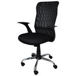 Scaun pentru birou, mecanism TILT, negru, OFFICE PRODUCTS Rhodes