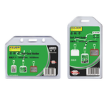 Buzunar PVC carduri ID, transparent, 54x85 | 85x54 mm, 5 buc | set, KEJEA