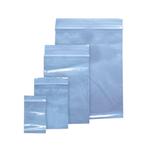 Pungi plastic cu fermoar, 40x60 mm, 100 buc/set