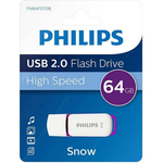 Memory stick USB 2.0, 64 GB, PHILIPS Snow edition