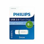 Memory stick USB 2.0, 8 GB, PHILIPS Snow edition