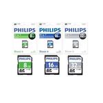 Micro SD Card 8 GB PHILIPS SDHC U1 Class 10
