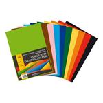 Carton color A3, 120 gr/mp, 10 culori, 100 coli, AURORA Raphael