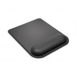 Mousepad cu suport ergonomic cu gel, negru, KENSINGTON ErgoSoft