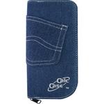 Husa calculator stiintific, jeans | textil, 195x100x25 mm, BESTLIFE