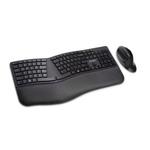 Kit dual wireless tastatura + mouse, bluetooth, KENSINGTON Pro Fit Ergo