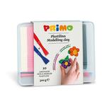 Plastilina 10 culori (+2 spatule), 300 gr | cutie, MOROCOLOR Primo