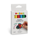 Plastilina 6 culori, 110 gr | cutie, MOROCOLOR Primo