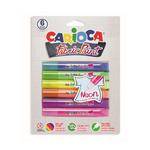 Vopsea acrilica textile, 6 culori, CARIOCA Fabric Paint