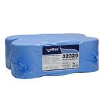 Rola prosop hartie cu derulare centrala, 2 straturi, 108 m, 450 foi, 6 buc | bax, CELTEX Maxipull Trend Blue